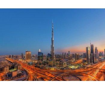 Fotobehang Burj Khalifa 366x254 cm