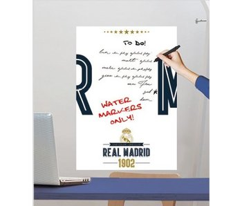 Real Madrid muursticker White Board 47x67cm