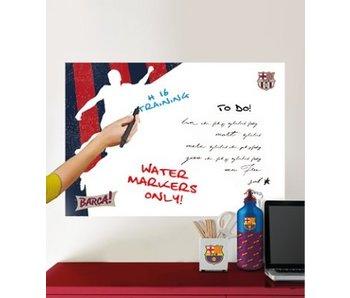 FC Barcelona Wandaufkleber White Board 45x65cm Spieler