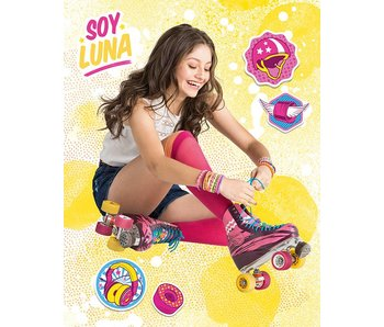 Disney Soy Luna Skating Fleece Plaid 110x140cm