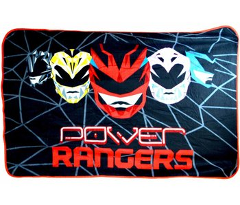Power Rangers Fleece Throw Geo Shard 100x150cm