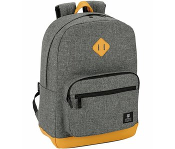 """FC Barcelona Backpack Casual gray Laptop Sleeve 15.6 """" 43cm"""