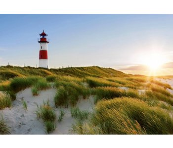 Fotobehang Leuchtturm 366x254 cm