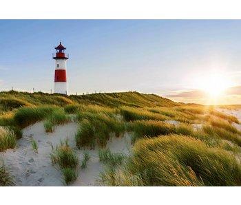 Fotobehang Lighthouse 366x254 cm
