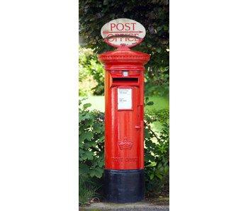 Fotobehang Postbox Fotobehang 86x200 cm