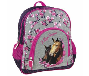 Animal Pictures Backpack Horses 30cm