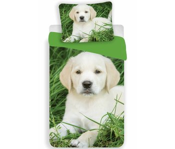 Animal Pictures Duvet cover Labrador Puppy 140x200 + 70x90cm