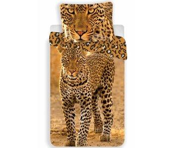 Animal Pictures Dekbedovertrek Luipaard 140x200 + 70x90cm