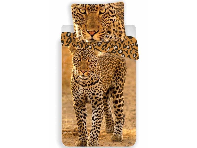 Animal Pictures Leopard - Duvet Cover - Single - 140 x 200 - Mutli
