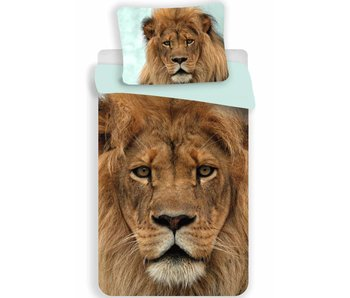 Animal Pictures Duvet cover lion 140x200 + 70x90cm