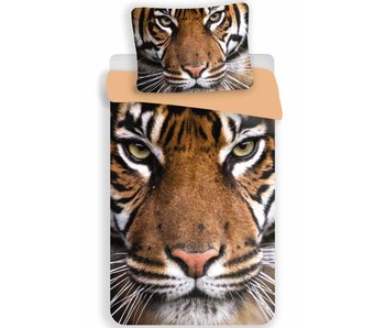 Animal Pictures Quilt cover Tiger 140x200 + 70x90cm