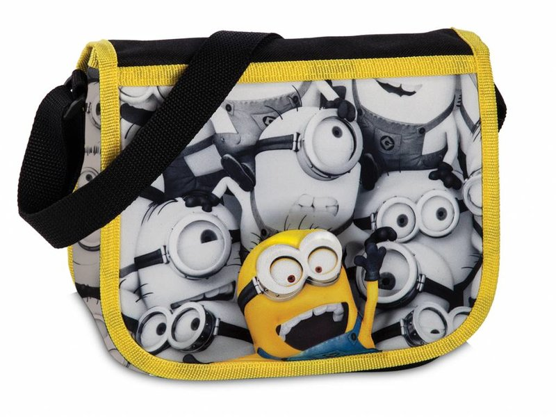 Minions Despicable 3 - Shoulder bag - 21 cm - Multi