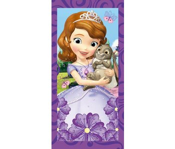Disney Sofia The First Strandlaken Flowers 70x140cm