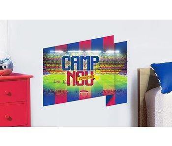 FC Barcelona Muursticker Camp Nou 50x70cm