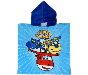 Super Wings Poncho Team