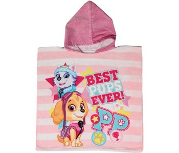 PAW Patrol Poncho best PUPS ever