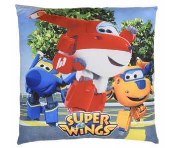 Super Wings Ornamental cushion 3 heroes 40x40cm