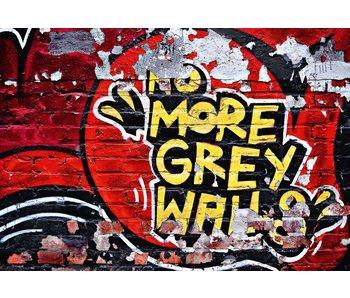 Fotobehang No More 366x254 cm Greywalls