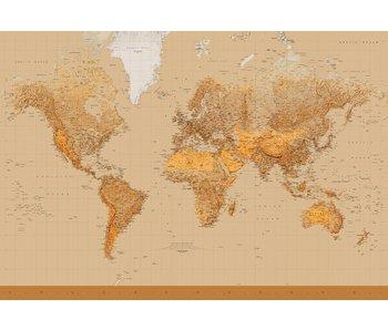 Fotobehang Die Welt 366x254 cm