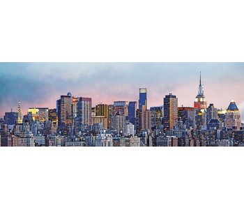 Fotobehang Skyline von New York 366x127 cm