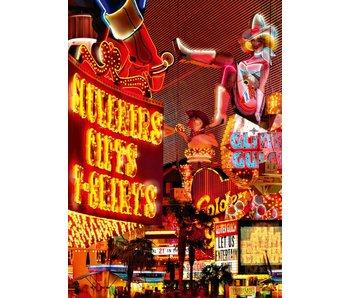 Fotobehang Downtown Las Vegas 183x254 cm