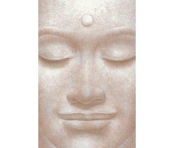 Fotobehang Smiling Buddha 115x175 cm