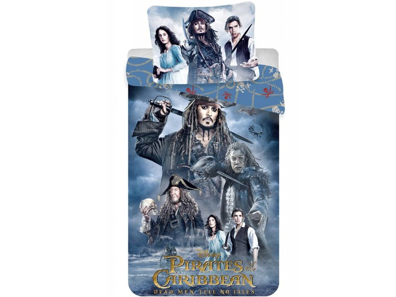Pirates of the caribbean jack sparrow housse de couette - Housse de couette pirate des caraibes ...