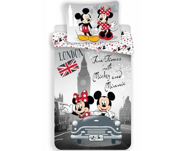 Disney Minnie Mouse Quilt Cover Fun Times 140x200cm + 70x90cm