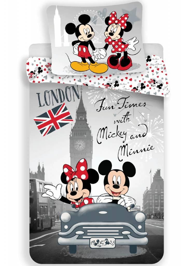 disney minnie mouse fun temps housse de couette single. Black Bedroom Furniture Sets. Home Design Ideas