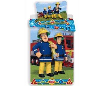 Brandweerman Sam Dekbedovertrek Proud 140x200cm + 70x90cm