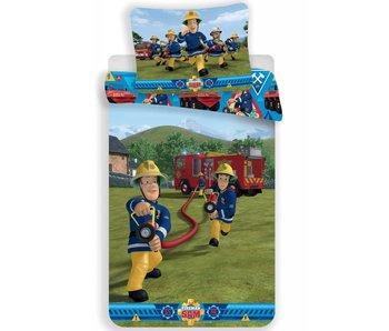 Brandweerman Sam Dekbedovertrek Action 140x200cm + 70x90cm