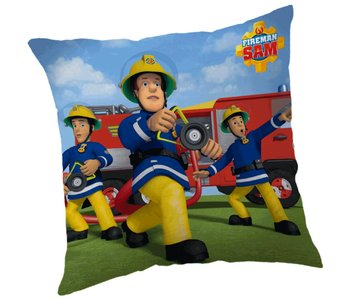 Brandweerman Sam Cushion Action 40x40cm