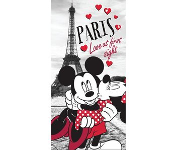 Disney Minnie Mouse Handtuch 70x140cm Paris