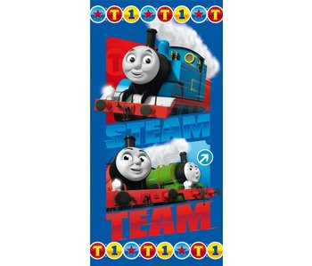 Thomas de Trein Strandlaken Steam Team 70x140cm