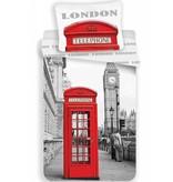 Londen Telefon - Bettwäsche - Single - 140 x 200 cm - Multi-