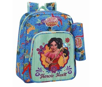 Disney Elena of Avalor Backpack Heroic 38 cm including free pencil case