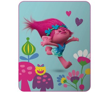 Trolls Plaid Cute 110x140cm Polyester