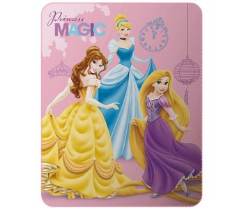 Disney Princess Plaid Magic 110x140cm Polyester
