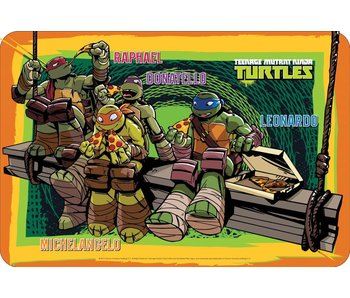 Teenage Mutant Ninja Turtles Platzdeckchen 43x29cm