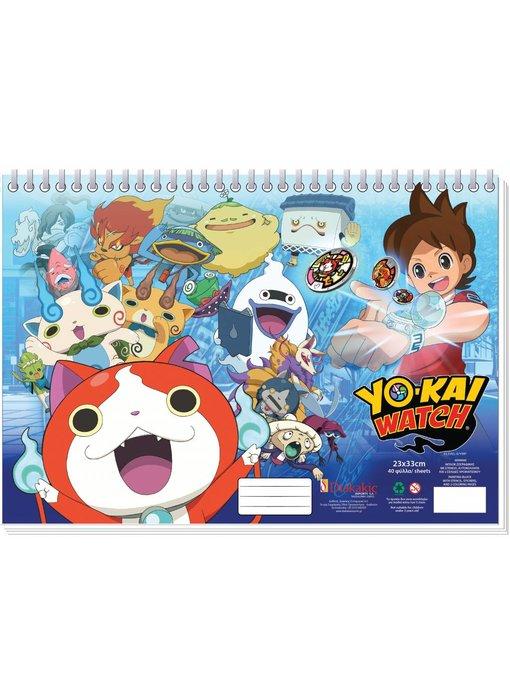 Yo-Kai Watch Zeichnung Pad 23x33cm