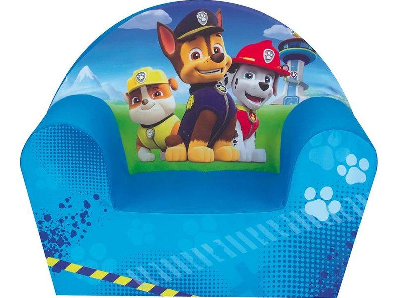 PAW Patrol Boy - Fauteuil - 42 x 52 x 33 cm - Blauw - SimbaShop.nl