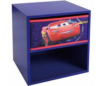 Disney Cars Nachtkastje met laadje 36x33x30cm