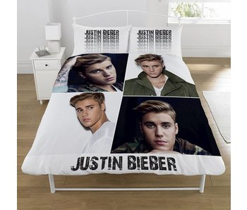 Justin Bieber Bettbezug Montage 2sitzig 200x200 + 50x75cm