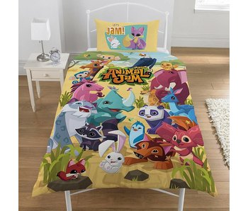 Animal Jam Duvet cover Pawsome polycotton 140x200 + 50x75cm