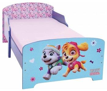 PAW Patrol Kinderbett Mädchen 70x140cm einschließlich Latten