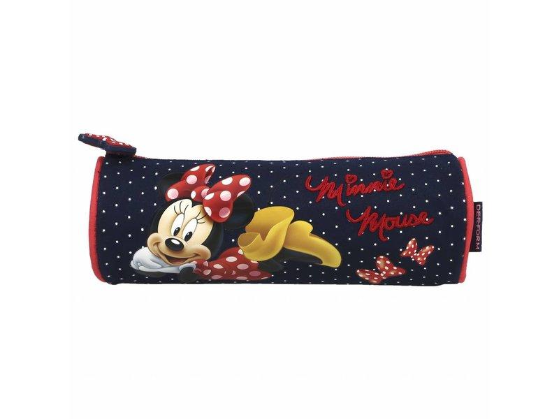 Disney Minnie Mouse - Pencil Case - 21 cm - Blue