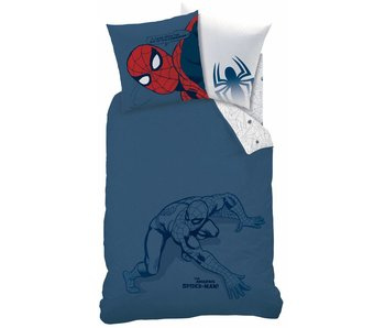 Spider-Man Silhouette Bettdecke 140x200cm