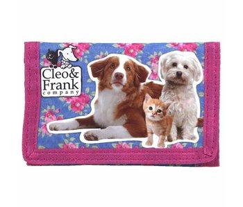 Cleo & Frank Portemonnee Kat en Hond