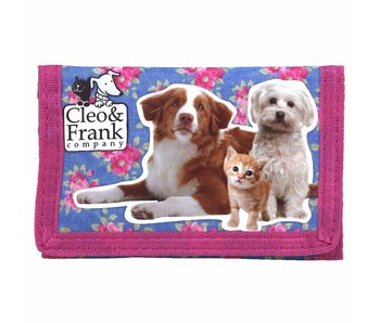 Cleo & Frank Wallet Cat and Dog