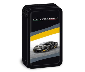 Lamborghini Case Centenario 19 cm two zippers